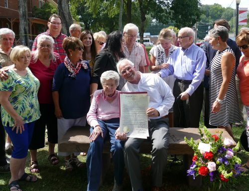 """Rhea County Republicans honors Gladys Best with """"Best Bench"""""""